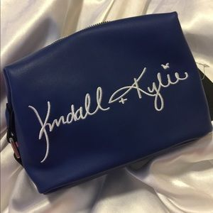 NWT Kendall & Kylie Zippered Travel Cosmetic Bag